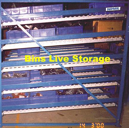 Bins Live Storage