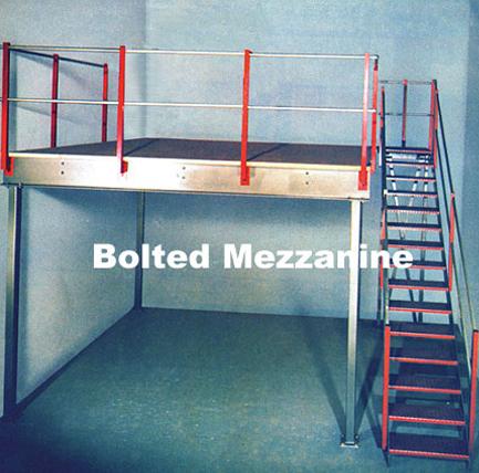Bolted Mezzanine