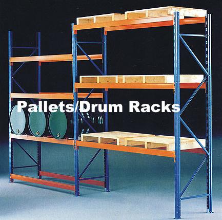 Pallets/Drum Racks