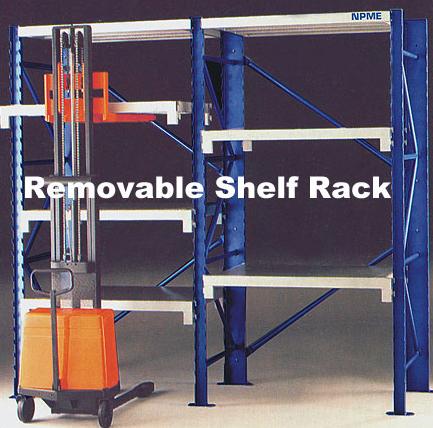 Removable Shelf Rack