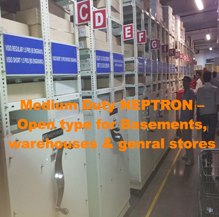 Medium Duty NEPTRON – Open type for Basements, warehouses & genral stores